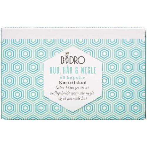 Køb Bidro Hud, Hår & Negle 60 stk. online hos apotekeren.dk