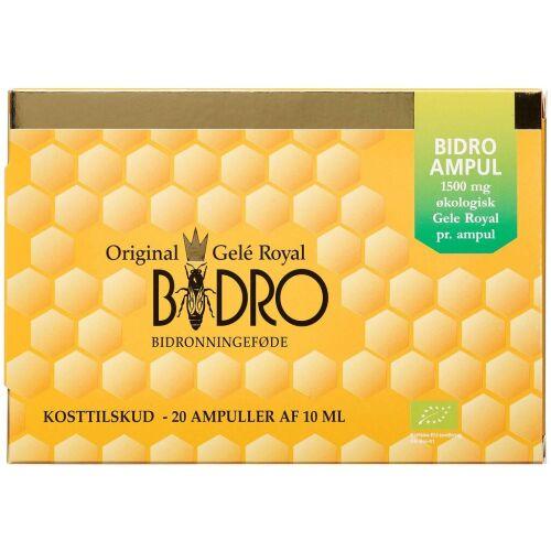 Køb Bidro Gele Royal Ampul 20 stk. online hos apotekeren.dk