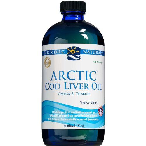 Køb Nordic Naturals Arctic Cod Liver Oil 473 ml online hos apotekeren.dk
