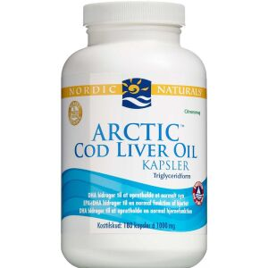 Køb Nordic Naturals Arctic Cod Liver Oil 180 stk. online hos apotekeren.dk