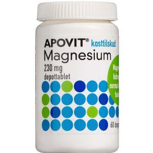 Køb Apovit Magnesium 230 mg 60 stk. online hos apotekeren.dk