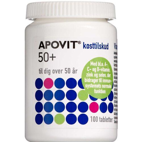 Køb Apovit 50+ 100 stk. online hos apotekeren.dk