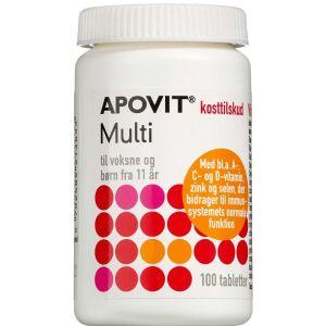 Køb Apovit Multi Voksen 100 stk. online hos apotekeren.dk