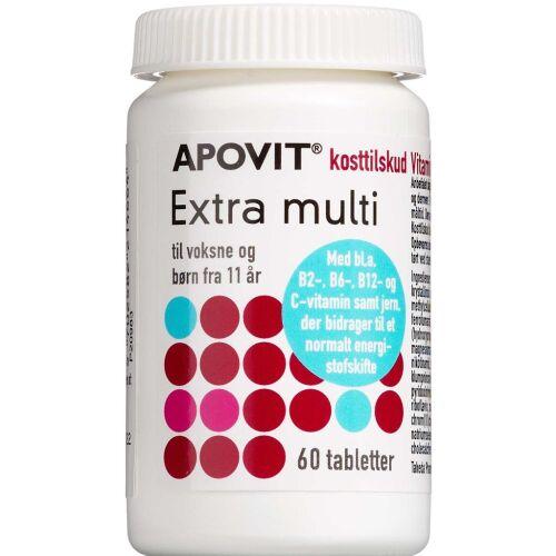 Køb Apovit Extra Multi 60 stk. online hos apotekeren.dk