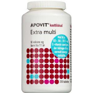 Køb Apovit Ekstra Multi kosttilskud 200 stk. online hos apotekeren.dk