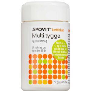 Køb APOVIT MULTI APPELSIN TTB online hos apotekeren.dk