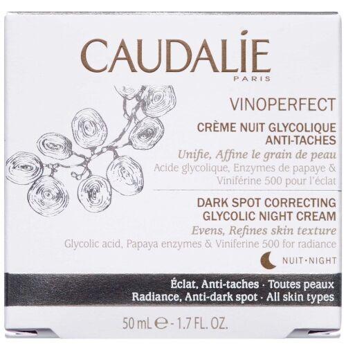 Køb Caudalíe Dark Spot Correcting Glycolic Night Cream 50 ml online hos apotekeren.dk