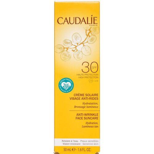 Køb Caudalíe Anti-Wrinkle Face Suncare SPF30 50 ml online hos apotekeren.dk