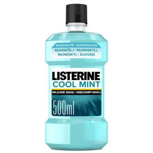 Køb Listerine Cool Mint 500 ml online hos apotekeren.dk