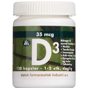Køb D3 Vitamin 35 mcg 120 stk. online hos apotekeren.dk
