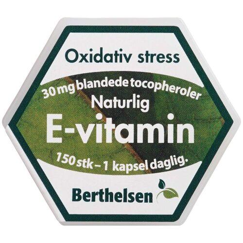 Køb Berthelsen E-vitamin 150 stk. online hos apotekeren.dk