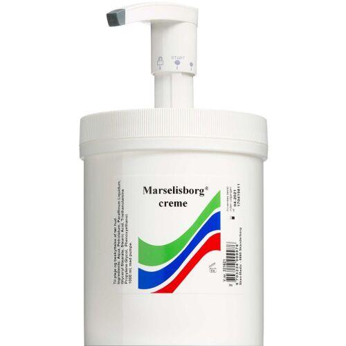 Køb Marselisborg creme m. pumpe 1000 ml online hos apotekeren.dk