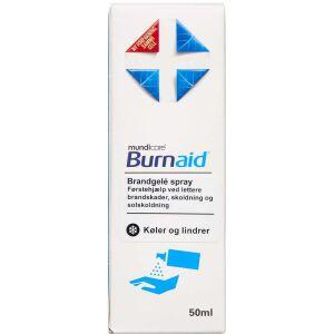 Køb Burnaid Brandgelé spray 50 ml online hos apotekeren.dk