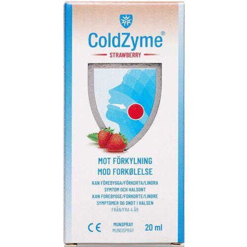 Køb Colzyme Stawberry mundspay 20 ml online hos apotekeren.dk