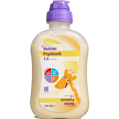 Køb Nutrini Peptisorb 12 x 500 ml online hos apotekeren.dk