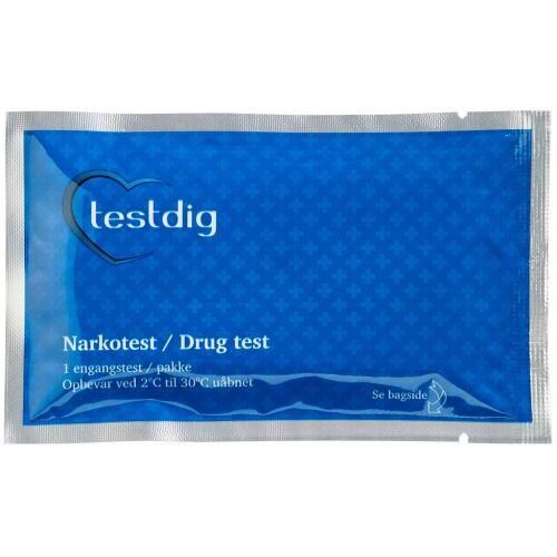 Køb Testdig THC Hashtest 1 stk. online hos apotekeren.dk