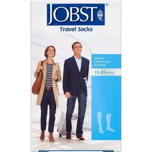 Køb Jobst Travel kompressionsstrømpe black str. XL 1 par online hos apotekeren.dk