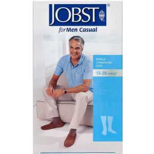 Køb Jobst Men Casual kompressionsstrømpe str. M 1 par online hos apotekeren.dk