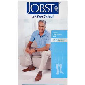 Køb Jobst Men Casual kompressionsstrømpe str. L 1 par online hos apotekeren.dk