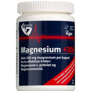 Køb Magnesium +300 kapsler 60 stk. online hos apotekeren.dk