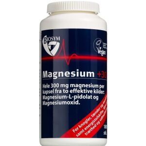 Køb Magnesium +300 kapsler 180 sk. online hos apotekeren.dk