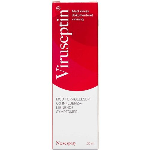 Køb Viruseptin Næsespray saltvandsopløsning 20 ml online hos apotekeren.dk