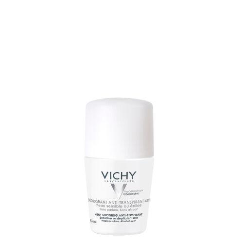 Køb Vichy deodorant roll-on antiperspirant mild 50 ml online hos apotekeren.dk