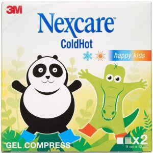 Køb Nexcare ColdHot Happy Kids kompres 2 stk. online hos apotekeren.dk
