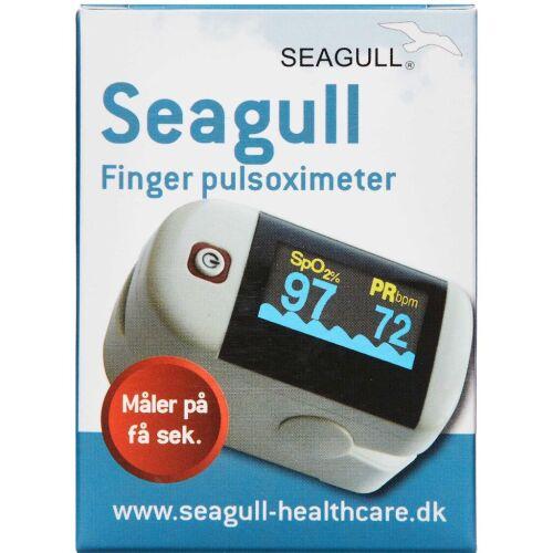 Køb Seagull Pulsoximeter puls- og iltmåler med sensor 1 stk online hos apotekeren.dk