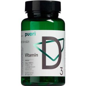 Køb Puori D3 D-vitamin 60 stk. online hos apotekeren.dk
