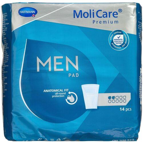 Køb MoliCare Premium for Men 2 D 14 stk. online hos apotekeren.dk