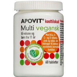 Køb Apovit Multivitamin Vegansk 60 stk. online hos apotekeren.dk