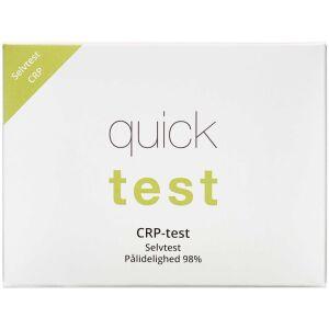 Køb Quicktest CRP-test 1 stk. online hos apotekeren.dk