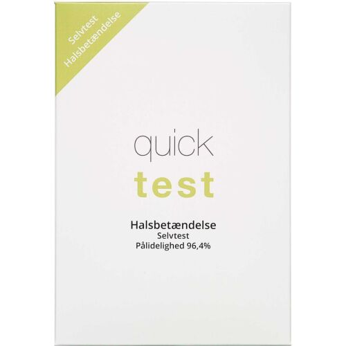 Køb Quicktest Halsbetændelse 1 stk. online hos apotekeren.dk