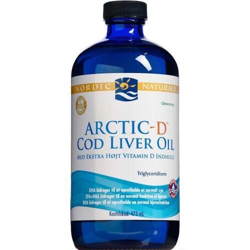 Køb Nordic Neutrals AR.D COD Liver 473 ml online hos apotekeren.dk