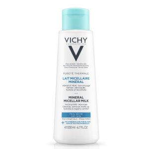 Køb Vichy Pur. Therm Micellar Milk 200 ml online hos apotekeren.dk