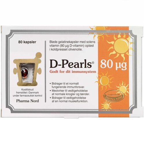 Køb D-pearls 80 mikg 80 stk online hos apotekeren.dk