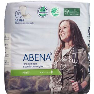 Køb Abena Light Mini 1 Premium 20 stk online hos apotekeren.dk