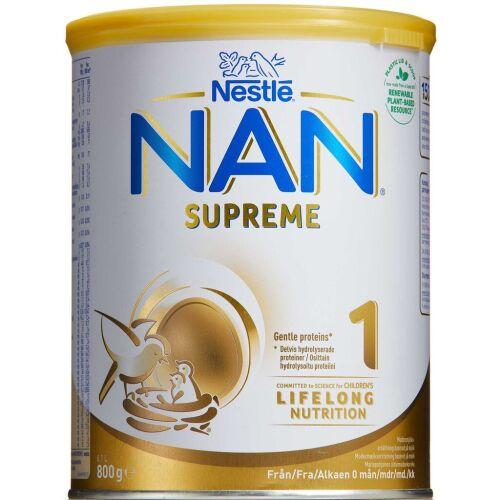 Køb NAN Supreme 1 800g online hos apotekeren.dk