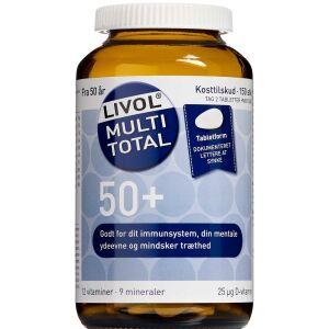 Køb Livol Multi Total 50+ 150 stk. online hos apotekeren.dk