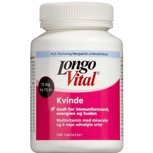 Køb LongoVital Kvinde 180 stk. online hos apotekeren.dk