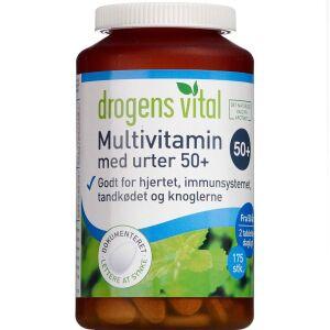 Køb Drogens Vital Multi Urter 50+ 175 stk. online hos apotekeren.dk