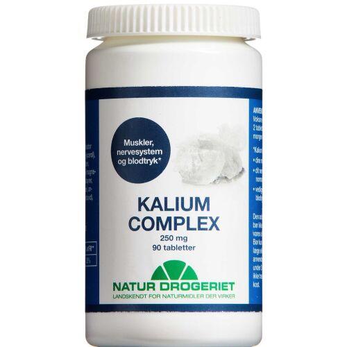 Køb Kalium Complex 250 mg 90 stk. online hos apotekeren.dk