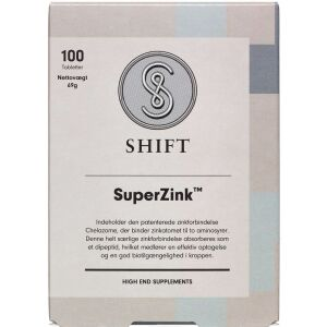 Køb Shift Superzink 100 stk. online hos apotekeren.dk