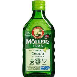 Køb Møllers Tran Æble 250 ml online hos apotekeren.dk
