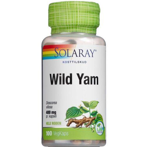 Køb Solaray Wild Yam 100 stk. online hos apotekeren.dk