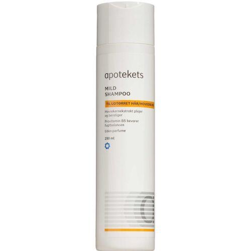 Køb Apotekets Mild Shampoo 250 ml online hos apotekeren.dk
