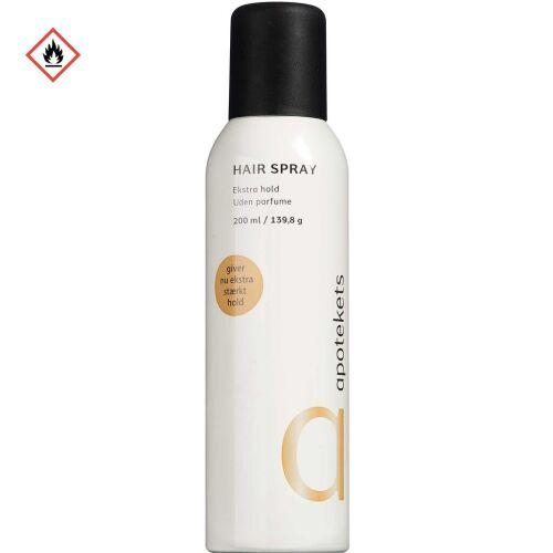 Køb Apotekets Hairspray 200 ml online hos apotekeren.dk