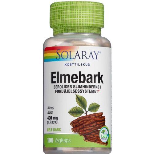 Køb Solaray Elmebark 100 stk. online hos apotekeren.dk