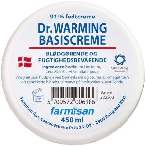 Køb Dr.Warming Basiscreme i krukke 450 ml online hos apotekeren.dk
